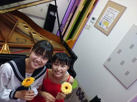 中学生と高校生のH姉妹